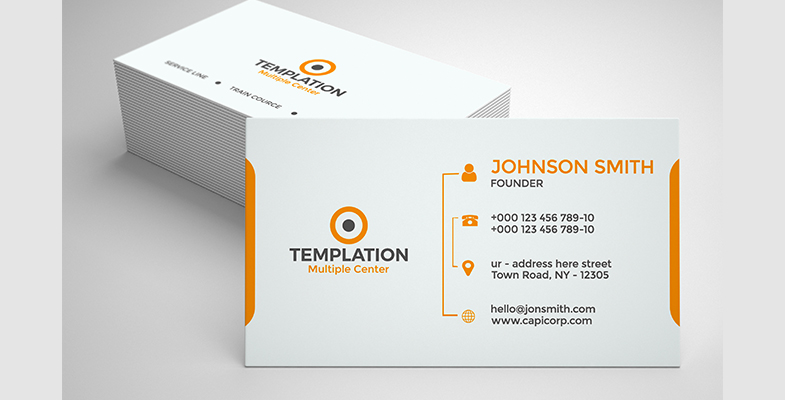 Simple Business Card - Graphic Reserve