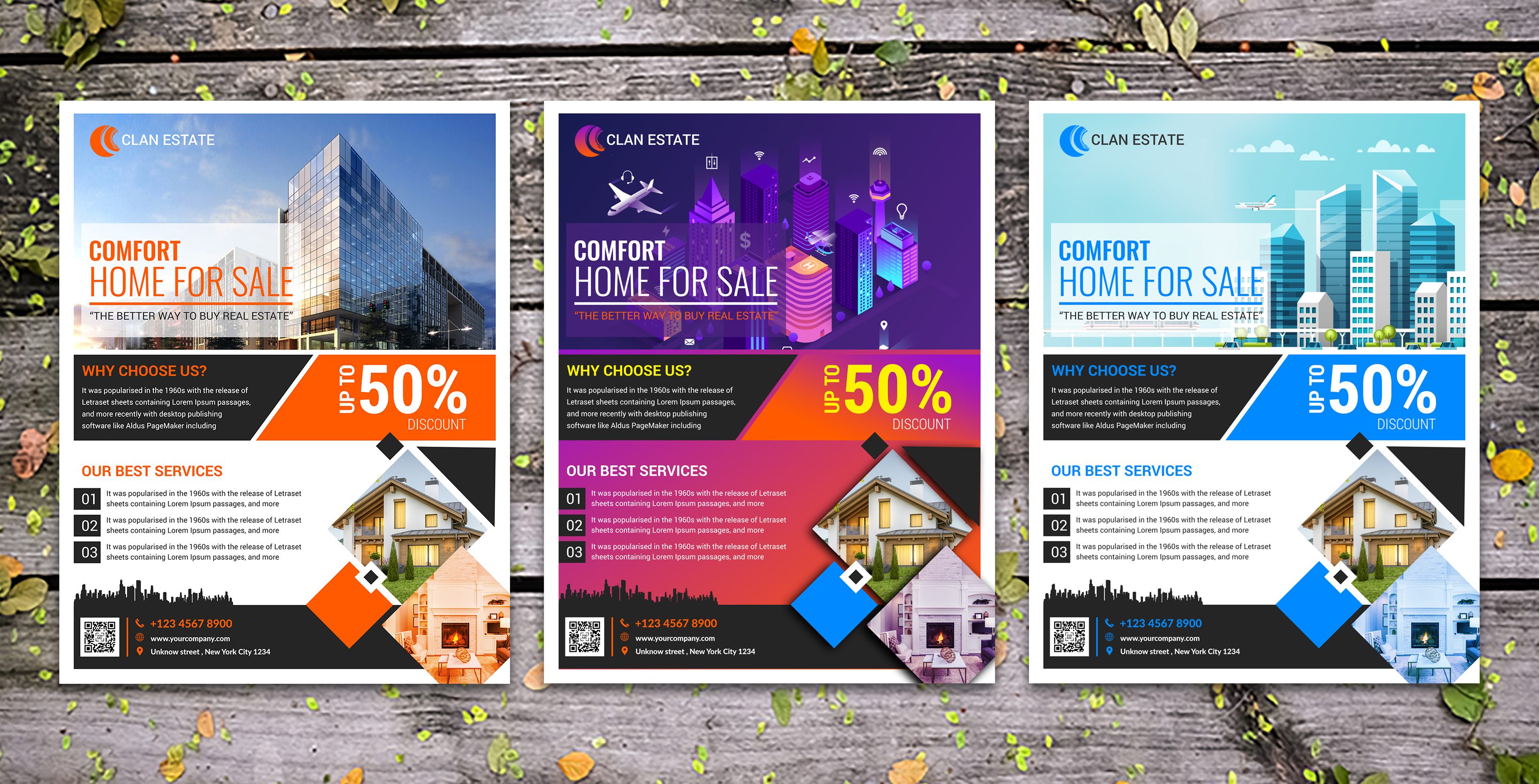 Real Estate Flyer Template - Graphic Reserve