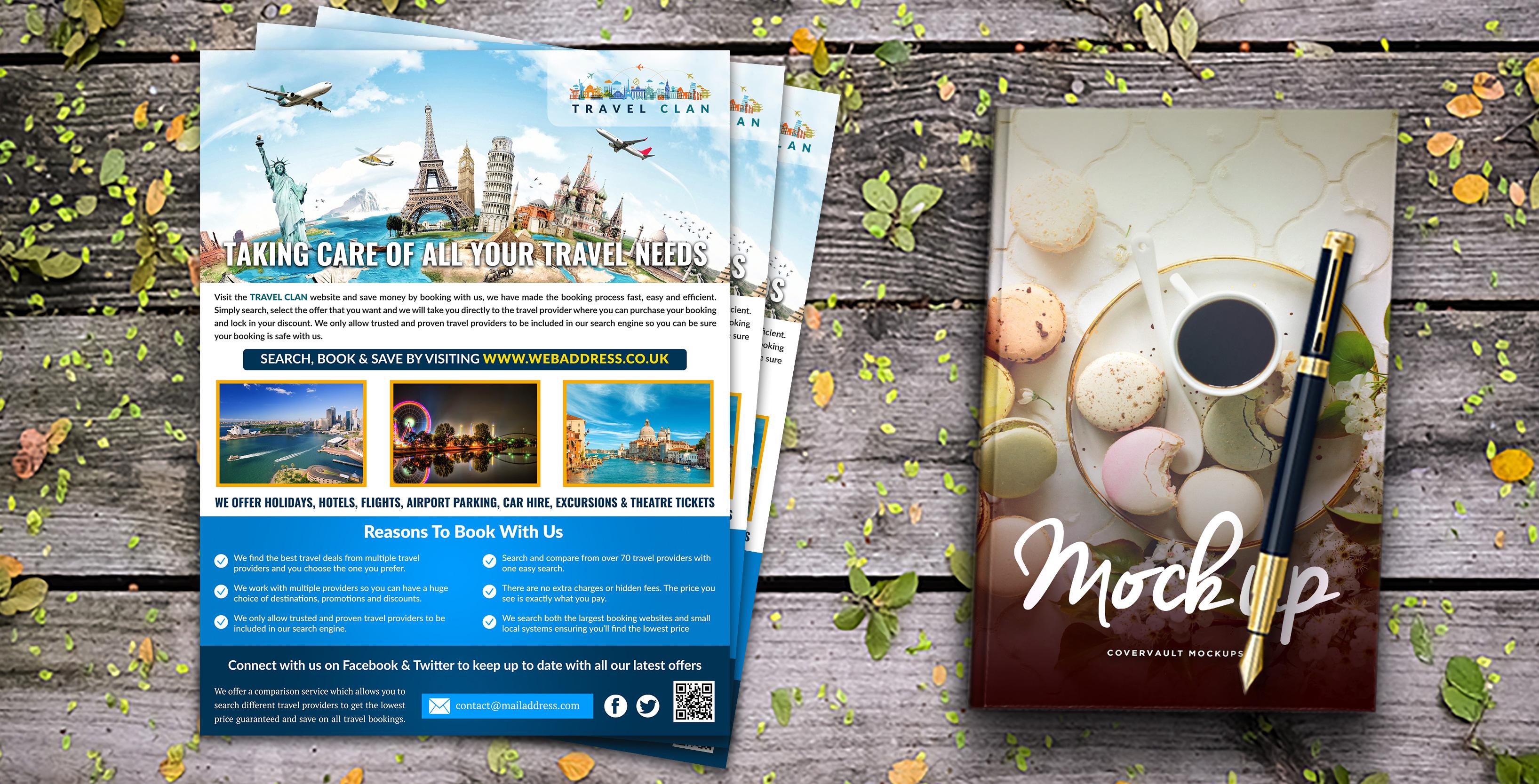 Travel Agency Flyer 19