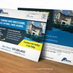 Real Estate Foreclosure Direct Mail EDDM Postcard Template