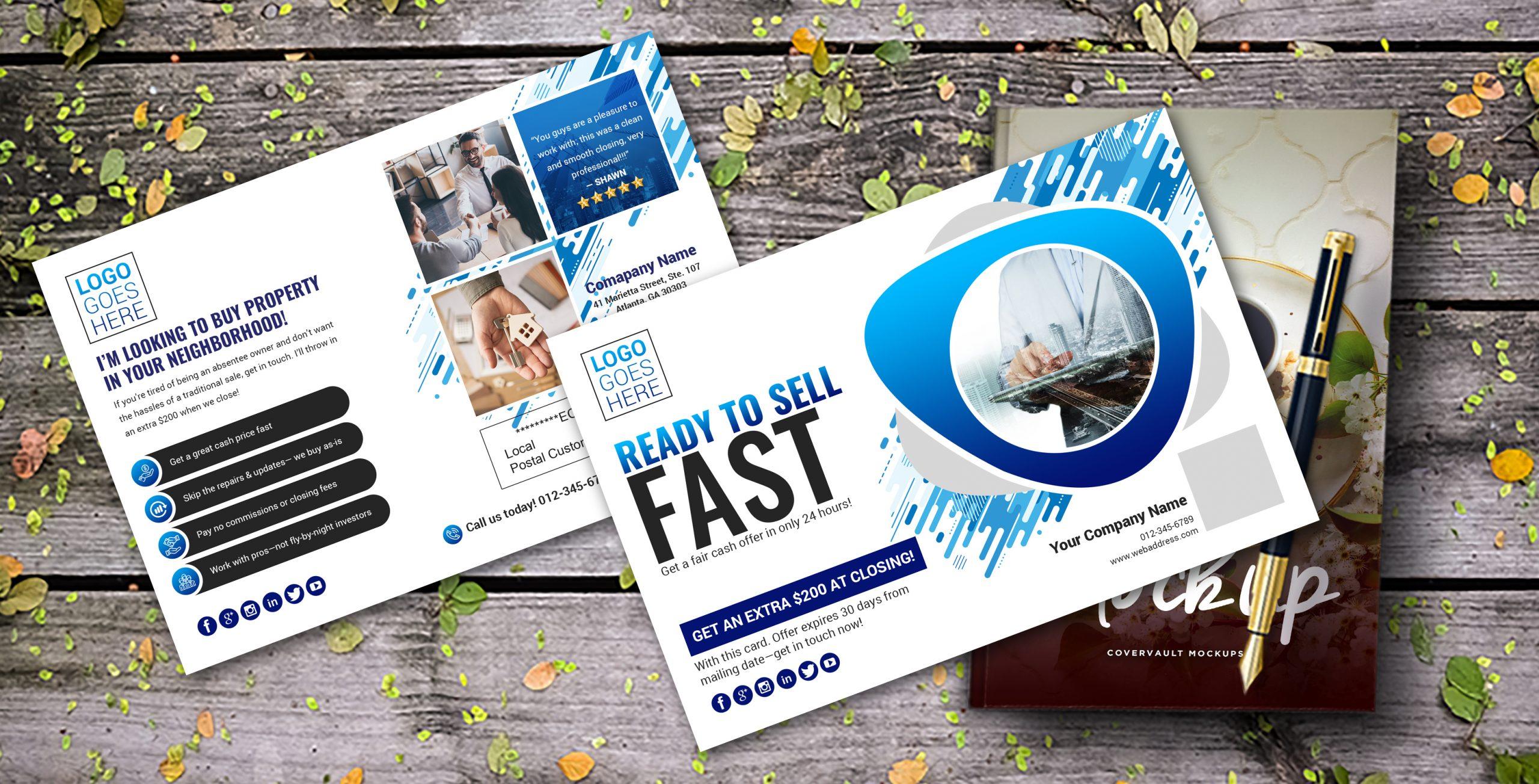 Real Estate EDDM Postcard