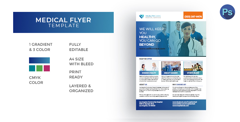 Medical Health Care Template - Graphic Reserve