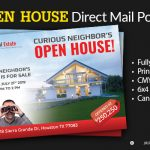 Open House postcard cover