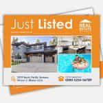 Real Estate Just Listed Eddm Postcard