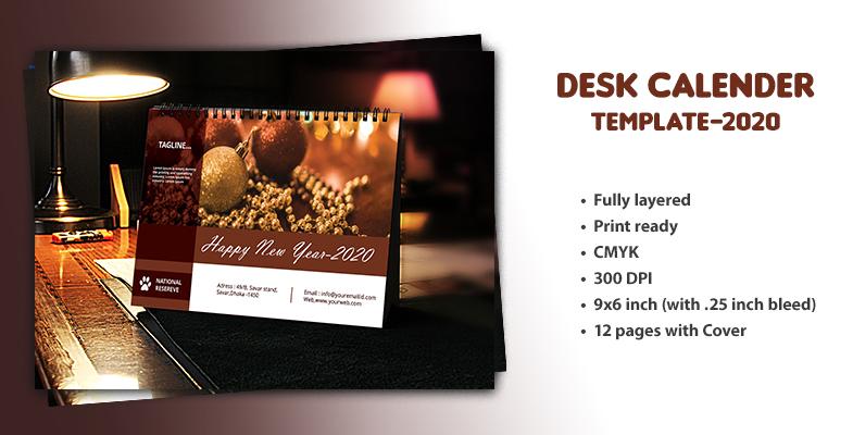 Desk Calendar-2020