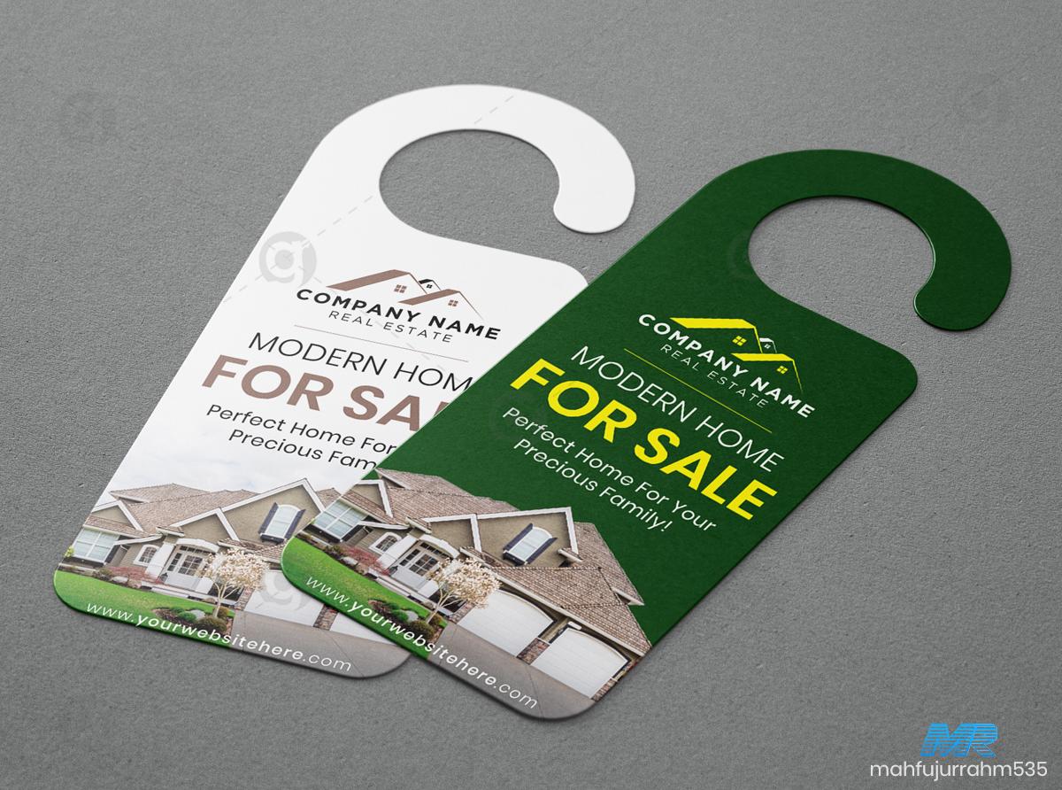 02 Real Estate Door Hanger Design