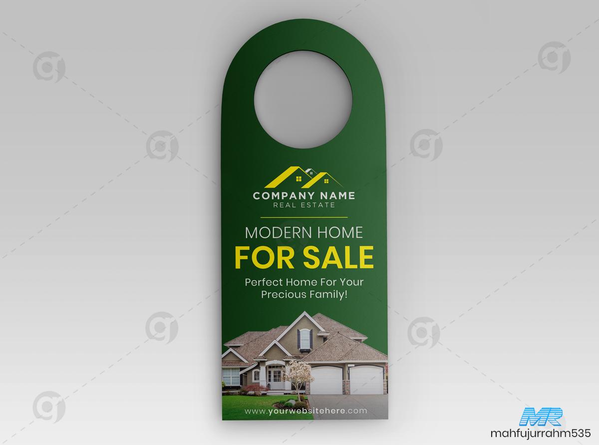 03 Real Estate Door Hanger Design