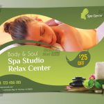 Beauty Spa EDDM Postcard