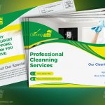 Cleaning Services Direct Mail EDDM Postcard template