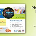 Free Custom Blister Packs Pharmacy EDDM Postcard