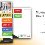Local Moving Business Direct Mail Postcard cover