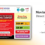Moving and Storage Company Marketing Postcard cover
